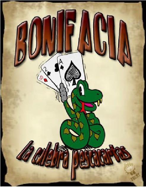 BONIFACIA - LA SERPIENTE PESCA CARTAS