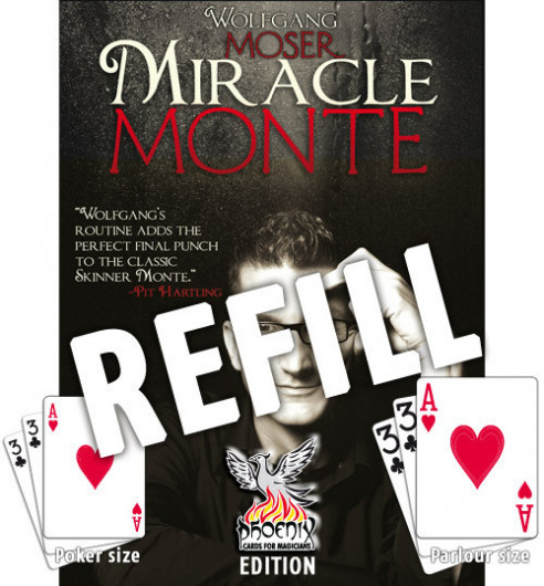 RECAMBIOS POKER - MOSER MIRACLE MONTE