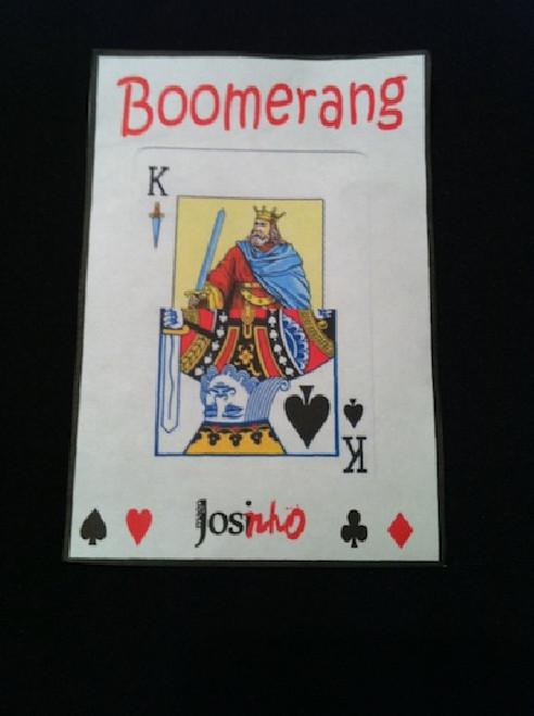 CARTA BOOMERANG ESPAÑOLA / POKER  BY...