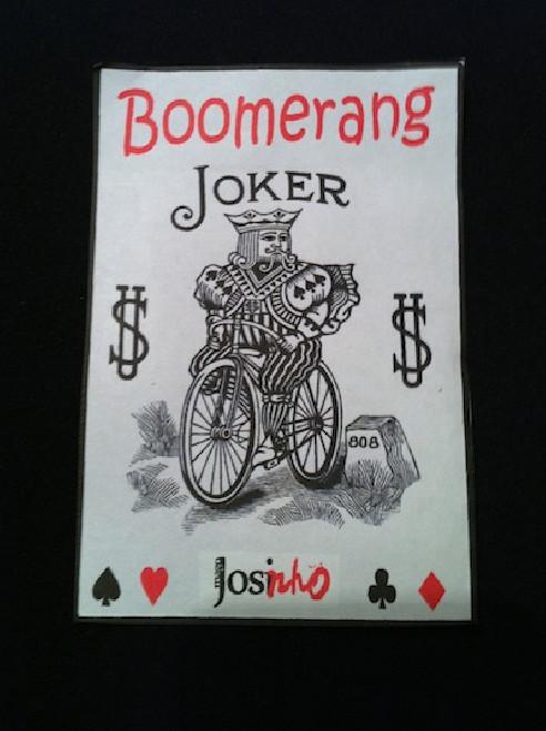 CARTA BOOMERANG JOKER  / POKER  BY...
