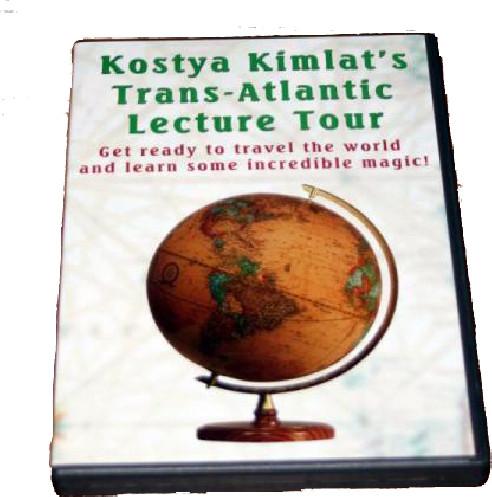 TRANS-ATLANTIC (2 DVD) KOSTYA KIMLAT
