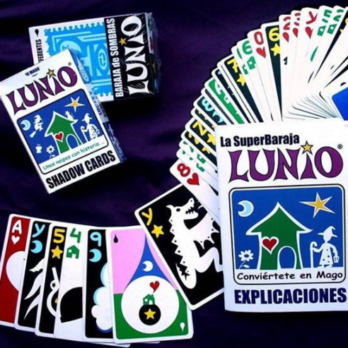 BARAJA LUNIO (STORY CARDS) + LIBRITO