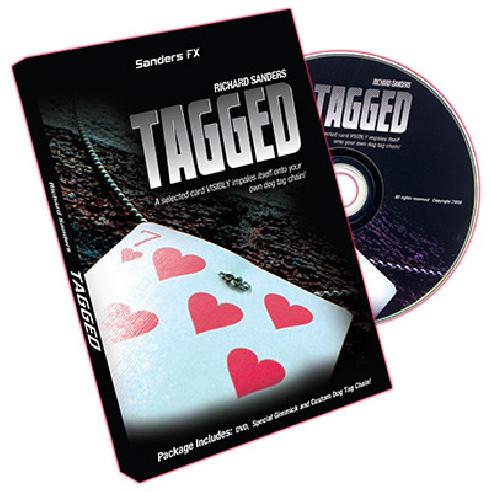 TAGGED - RICHARD SANDERS DVD + GIMMICK
