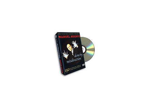 DONE BY MISDIRECTION - MANUEL MUERTE DVD