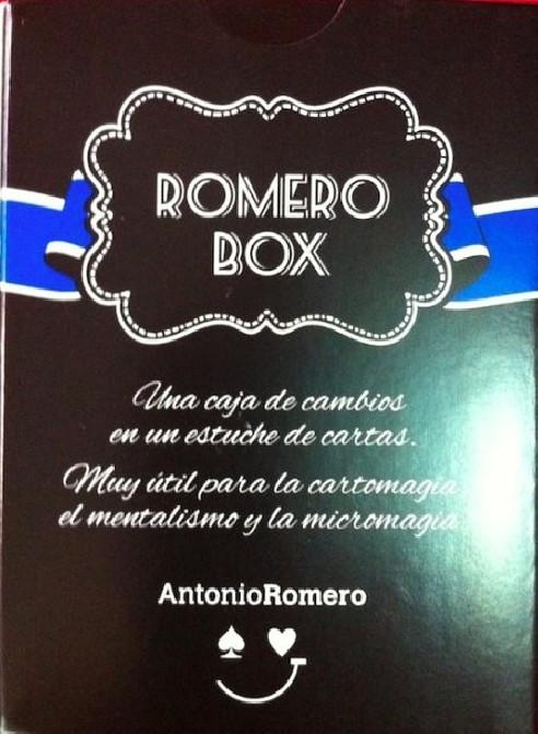 ROMERO BOX (AZUL) + LIBRO - Antonio...