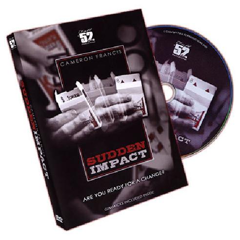 SUDDEN IMPACT DVD + GIMMICK