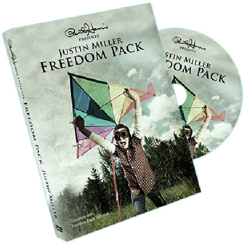 FREEDOM (GIMMICK + DVD) JUSTIN MILLER...