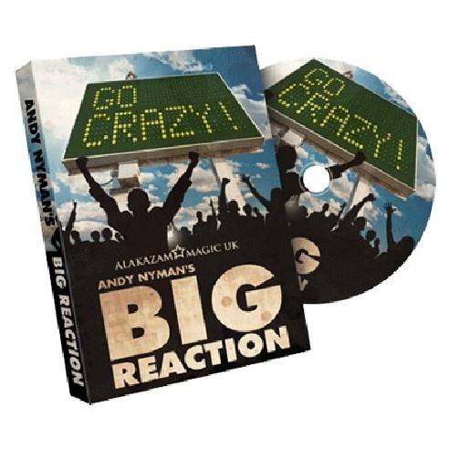 BIG REACTION (DVD + GIMMICKS)