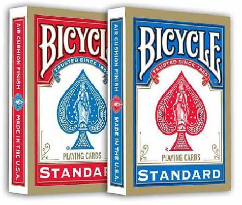 BARAJA BICYCLE STANDARD 808 - AZUL